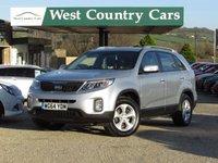 USED 2014 64 KIA SORENTO 2.2 CRDI KX-1 5d 194 BHP Ideal Family 7 Seater Tow Car
