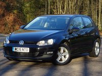 USED 2015 15 VOLKSWAGEN GOLF 1.6 MATCH TDI BLUEMOTION TECHNOLOGY 3d 109 BHP