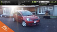 2008 FORD FIESTA 1.6 STYLE CLIMATE 16V 5d AUTO 100 BHP £2150.00
