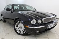 USED 2006 56 JAGUAR XJ 2.7 TDVI SOVEREIGN 4DR 206 BHP SERVICE HISTORY + HEATED LEATHER SEATS - FRONT/REAR + SAT NAVIGATION + PARKING SENSOR + CRUISE CONTROL + MULTI FUNCTION WHEEL + 18 INCH ALLOY WHEELS
