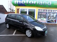 USED 2010 60 VAUXHALL ZAFIRA 1.9 ELITE CDTI 5d 120 BHP JUST ARRIVED FULL BLACK LEATHER DIESEL  7 SEATER