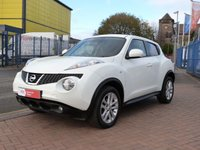 USED 2011 11 NISSAN JUKE 1.6 ACENTA PREMIUM 5d  SAT NAV ~ REAR CAMERA ~ AIR CONDITIONING ~ ONE FORMER KEEPER