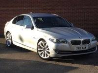 USED 2011 11 BMW 5 SERIES 2.0 520D SE 4d AUTO 181 BHP