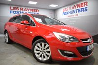 USED 2014 14 VAUXHALL ASTRA 2.0 ELITE CDTI S/S 5d 163 BHP Full Leather Interior , 1 owner, Full Vauxhall Service History, Parking sensors