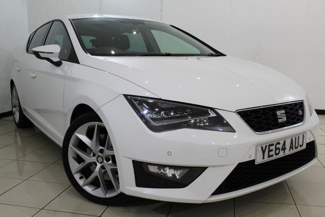 View our 2014 64 SEAT LEON 2.0 TDI FR TECHNOLOGY 5DR 184 BHP
