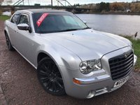 USED 2008 08 CHRYSLER 300C 3.0 CRD 4d AUTO 215 BHP ***FULL LEATHER INTERIOR***