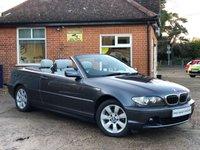 2005 BMW 3 SERIES 2.2 320CI SE 2d 168 BHP £4495.00