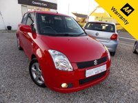 2005 SUZUKI SWIFT 1.5 GLX VVTS 5d 101 BHP £2095.00