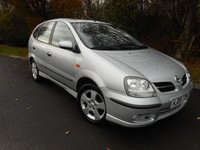 USED 2005 05 NISSAN ALMERA 1.8 TINO SE 5d 114 BHP * 1 Local Owner from New*