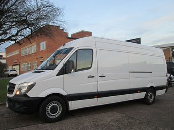 2015 MERCEDES-BENZ SPRINTER 2.1 313CDI LWB HIGH ROOF 129 BHP. NEW SHAPE. 1 OWNER. PX £13450.00