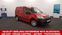 2015 CITROEN BERLINGO 1.6 625 ENTERPRISE Facelift model with Touchscreen DAB Radio in Passion Red with 18736 miles Air Con Bluetooth, *SAT NAV* £7480.00