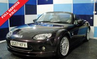 USED 2007 07 MAZDA MX-5 2.0 I ZSPORT LTD EDITION 2d 160 BHP Mazda MX5 Z sport limited edition, with uprated alloys and tasteful yet stylish body kit, finished in a delightful burgundy red metalic, sadly recorded on VCAR though there is no physical evidence of this.  Very sporty and fun vehicle
