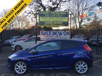 2015 FORD FIESTA 1.0 ZETEC S 3d 124 BHP £8799.00