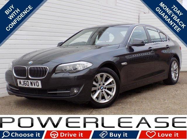 USED 2010 60 BMW 5 SERIES 2.0 520D SE 4d 181 BHP HEATED SEATS SAT NAV P/SENSORS