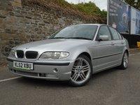 2003 BMW 3 SERIES 3.0 330I 4d 228 BHP £1695.00