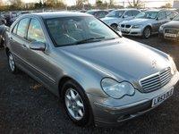 2003 MERCEDES-BENZ C CLASS 2.1 C220 CDI ELEGANCE SE 4d AUTO 143 BHP £SOLD