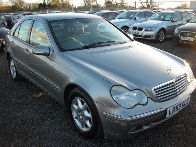 2003 53 MERCEDES-BENZ C CLASS 2.1 C220 CDI ELEGANCE SE 4d AUTO 143 BHP