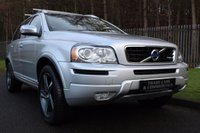 USED 2012 62 VOLVO XC90 2.4 D5 R-DESIGN NAV AWD 5d AUTO 200 BHP A HUGE SPECIFICATION XC90 WITH ONE PREVIOUS OWNER AND VOLVO SERVICE HISTORY!!!