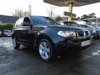 USED 2004 54 BMW X3 2.0 D SE 5d 148 BHP
