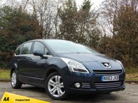 USED 2013 63 PEUGEOT 5008 1.6 E-HDI ACTIVE 5d AUTO 7 SEATER * 128 POINT AA INSPECTED *