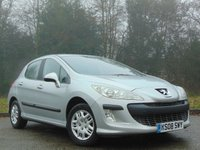 USED 2008 08 PEUGEOT 308 1.6 S 5d 118 BHP FANTASTIC VALUE FOR MONEY