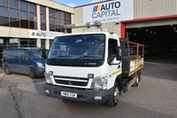 USED 2011 61 MITSUBISHI FUSO CANTER 3.0 75 DAY 7C15 2d 144 BHP TIPPER ONLY ONE OWNER FROM NEW