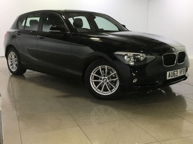 View our 2013 63 BMW 1 SERIES 1.6 114D SE 5d 94 BHP