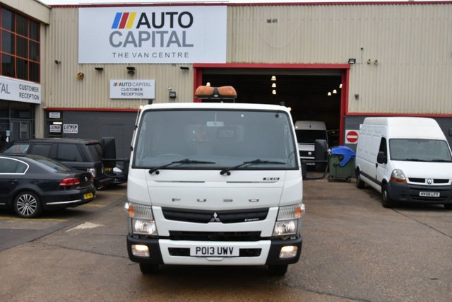 2013 13 MITSUBISHI FUSO CANTER 3.0 7C15 34 2d 148 BHP 7500KG RWD AUTOMATIC TWIN WHEEL DIESEL TIPPER