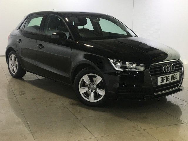 View our 2016 16 AUDI A1 1.6 SPORTBACK TDI SE 5d 114 BHP