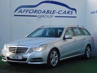 2011 MERCEDES-BENZ E CLASS 2.1 E220 CDI BLUEEFFICIENCY EXECUTIVE SE 5d AUTO 170 BHP £9950.00