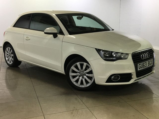 View our 2013 63 AUDI A1 1.6 TDI SPORT 3d 103 BHP