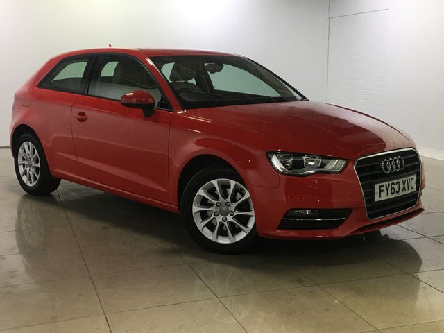 View our 2013 63 AUDI A3 1.6 TDI SE 3d 104 BHP
