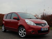 USED 2010 10 NISSAN NOTE 1.6 N-TEC 5d AUTOMATIC * FULL SERVICE HISTORY * AUTOMATIC * SATELLITE NAVIGATION *