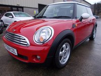 USED 2009 58 MINI HATCH COOPER 1.6 COOPER 3d 118 BHP Excellent Condition, No Deposit Finance Available, No Fees For Finance