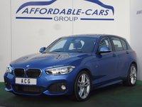 2016 BMW 1 SERIES 1.5 116D M SPORT 5d AUTO 114 BHP £15950.00