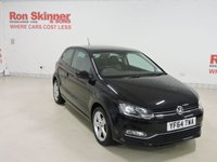 USED 2014 64 VOLKSWAGEN POLO 1.4 SEL TDI BLUEMOTION 3d 89 BHP