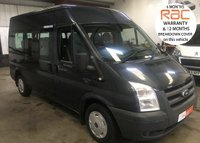 2011 FORD TRANSIT 12 SEAT SEATER MINIBUS SHUTTLE IN MET GREY 115  VERY CLEAN WITH *NO VAT* £8795.00
