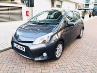 USED 2013 63 TOYOTA YARIS 1.5 HYBRID ICON PLUS 5d AUTO 61 BHP