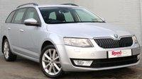 USED 2014 64 SKODA OCTAVIA 2.0 ELEGANCE TDI CR DSG 5d AUTO 148 BHP 1 OWNER + FSH + SATNAV