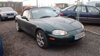 USED 1998 s MAZDA MX-5 1.6 I 2d 109 BHP CLEARANCE AS IS . NOT AVAILABLE ON FINANCE.