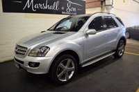 USED 2008 08 MERCEDES-BENZ M CLASS 3.0 ML 320 CDI EDITION 10 5d AUTO 222 BHP