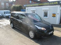 2015 FORD TRANSIT CONNECT 1.6 210 TREND LONG WHEEL BASE MODEL, METALLIC PANTHER BLACK, FULL SERVICE HISTORY  £SOLD