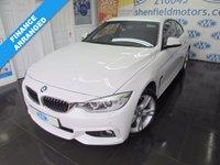 2014 BMW 4 SERIES 2.0 420D XDRIVE M SPORT 2d AUTO 181 BHP £20000.00