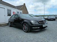 USED 2013 13 MERCEDES-BENZ C CLASS C63 AMG 6.3 C63 7G-Tronic 4dr ( 487 bhp ) One Local Owner Super Low Mileage