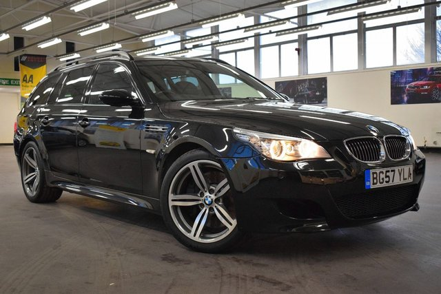 USED 2007 57 BMW M5 5.0 M5 TOURING 5d AUTO 501 BHP 1 OWNER  / FULL BMW SERVICE HISYORY / 6 MONTHS WARRANTY /  FULL MOT