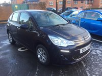 USED 2014 14 CITROEN C3 1.2 VTR PLUS ETG 5d AUTO 80 BHP AUTOMATIC WITH ALLOYS AND AIR CONDITIONING!!..EXCELLENT FUEL ECONOMY!!..LOW CO2 EMISSIONS..£0 ROAD TAX..FULL CITROEN HISTORY..ONLY 11342 MILES FROM NEW!!