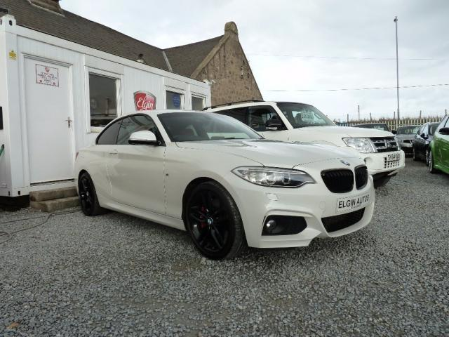 2015 15 BMW 2 SERIES 220d M Sport Coupe 2.0TD Step Auto 2dr ( 190 bhp )