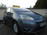 2007 CITROEN C4 PICASSO 2.0 GRAND EXCLUSIVE 16V EGS 5d AUTO 139 BHP £2799.00