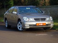 USED 2001 51 LEXUS GS 3.0 300 SE 4d AUTO 211 BHP HUGE SPEC + FSH  + ONLY 31K