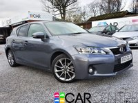 USED 2013 13 LEXUS CT 1.8 200H ADVANCE 5d AUTO 136 BHP 1 OWNER FROM NEW + FSH